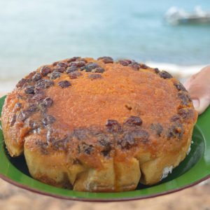 Steamed Syrup Pudding