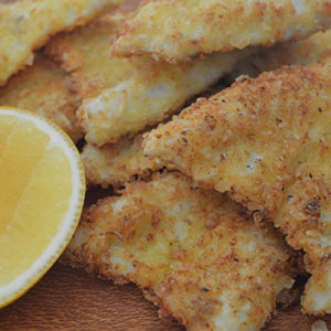 Salt and Vinegar Crumbed Whiting Fillets